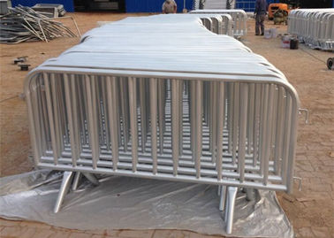 Sturdy Elegant Concert Crowd Control Panels Hot Galvanized Steel Material